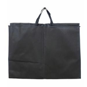 ドレスバッグ 三つ折り 不織布 社交ダンス 衣装の 持ち運びに 保管時の色あせ・汚れ防止に 黒 dance-grace-nagano