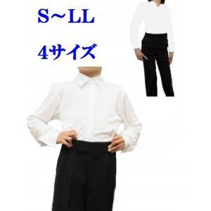 ストレッチシャツ No.4605 白 トリキン 男子ジュブナイル レオタード|dance-grace-nagano