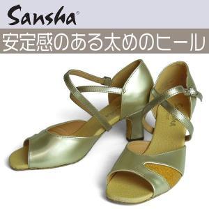 サンシャ ダンスシューズ BR01|dance-nets