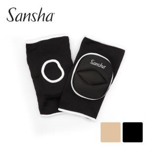 Sansha サンシャ ニーパッド 2枚組 ダンス バレエ サポーター|dance-nets