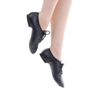 ジャズダンス シューズ ジャズシューズ ダンスシューズ 牛革 スウェード スエード 革底 ヒモ ひも ZUM ZJS7|dance-nets|06