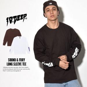 10DEEP テンディープ ロンT 長袖Tシャツ メンズ S...