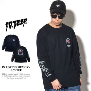 10DEEP テンディープ ロンT 長袖Tシャツ メンズ I...