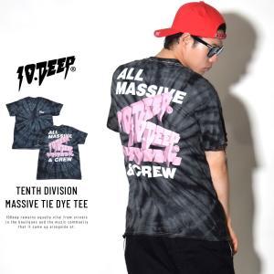 10DEEP テンディープ Tシャツ メンズ 半袖 タイダイ...