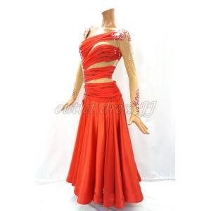 社交ダンス・ダンス衣装 インポート品 ヨーロッパ製 L375 フラメンコパソ Mサイズ|dancedress-jj