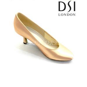 【取り寄せ】DSIレディーススタンダード 211 Vienna フレアヒール フレッシュ 5cmH/7cmH|dancedress-jj