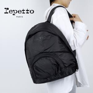 レペット repetto リュック リュックサック バックパック バッグ ダンス レッスン バレエ レディース 黒 Allegro Backpack danceshoes