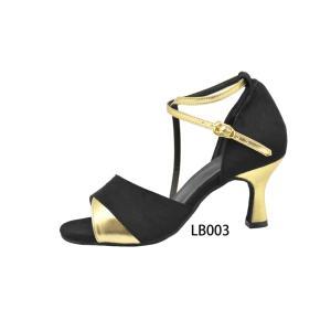 LB003 女性用ラテンダンスシューズ|danceshoesshow