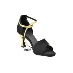 LB003 女性用ラテンダンスシューズ danceshoesshow 02