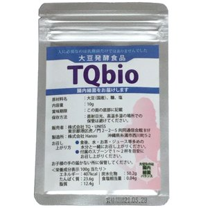 TQBIO ビオ1種類の乳酸菌だけでない有用腸内細菌群(大豆...
