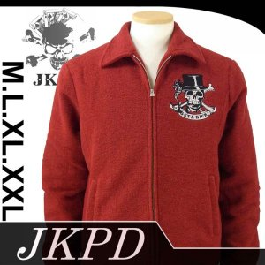 Junky's Paradise JFK-503 ギャンブルスカルニットライダース dandara