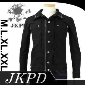 Junky's Paradise JKT-402BLK 刺繍デニムジャケット|dandara