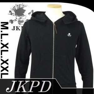 Junky's Paradise JSW-402 刺繍裏毛ジップパーカー|dandara