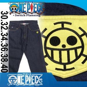 ONE PIECE × Switch Planning OPSP-002 トラファルガー・ロー タトゥーデニムパンツ dandara