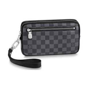 dc298649a8f2 ルイヴィトンクラッチバッグ セカンドバッグ 財布 新作新品 アルファ・クラッチ N60182 LOUIS VUITTON メンズ ダミエ 正規ラッピング