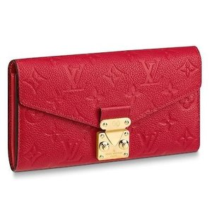 new products e8910 22a1d ルイヴィトン長財布 レディース財布 新品新作 ポルトフォイユメティス M63728 LOUIS VUITTON モノグラム 正規ラッピング LV