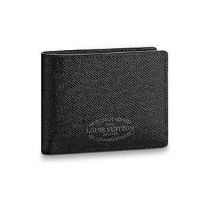 on sale 42d9b bac65 ルイヴィトン二つ折り財布 新作新品財布 ポルトフォイユコンパクト ブルーマリーヌ M64135 LOUIS VUITTON メンズ 財布 正規ラッピング