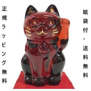 バカラ 招き猫 まねき猫 正規ラッピング ギフト お祝い クリスタルガラス 正規品 Baccarat...