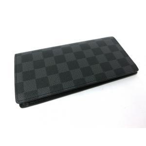 7b69a36e55ab ... ルイヴィトン財布 長財布 メンズ財布 正規品新品 正規ラッピング ダミエグラフィット メンズ ...
