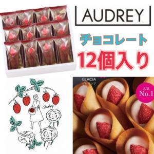 オードリー お菓子 グレイシア チョコレート 12個入り AUDREY ギフト 贈答品