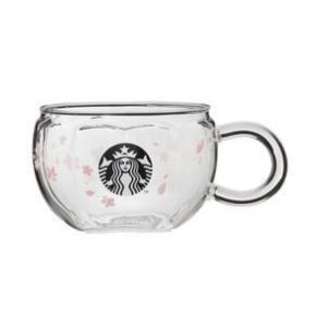 スターバックス SAKURA2020 耐熱グラスマグ サクラシェイプ 296ml Starbucks...