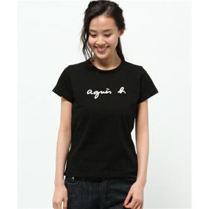 アニエスベー agnes b. FEMME Tシャツ 黒 ブ...