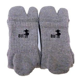 歩きへんろたび 女性用 厚地 足袋ソックス レディース 足袋靴下 2本指靴下 日本製 究極の足袋ソッ...