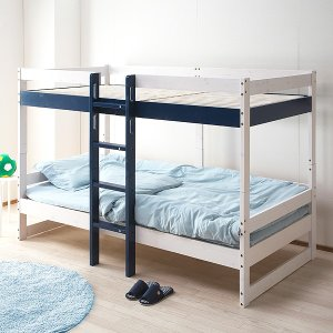2段ベッド 耐荷重300kg 掘り出し品 ロゴII (4色対応)  特許申請構造 二段 ロフトシステ...