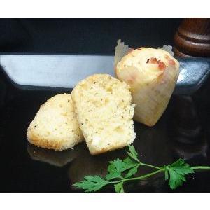 モモばあちゃんの手づくりカップケーキ《ベーコンチーズ》 1箱12個入 danranya