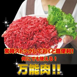 牛肉ひき肉国産100% 500g入 冷凍  パラパラミンチではありませんが格安商品 男しゃく ひき肉 100g当/99.9円+税  挽肉 挽き肉 牛ミンチ 牛ひき肉 牛挽肉|dansyaku|04