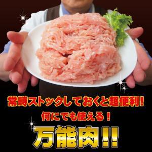 国産鶏ひき肉 600g 冷凍 国産鶏肉100%使用 男しゃく 100g当59.8円+税 鶏肉 鶏挽肉 ミンチ むね肉 ムネ肉|dansyaku|05