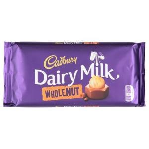 Cadbury Dairy Milk Whole Nut Bar (200g) キャドバリー?デイリ...
