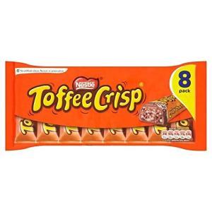 Nestle Toffee Crisp (8 per pack - 345.6g) (パックあたり8...