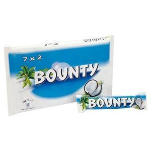 バウンティミルクチョコレート7×57グラムBounty Milk Chocolate 7 x 57g...