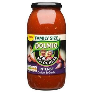 Dolmioのボローニャ激しいオニオン&ガーリック醤油750グラムDolmio Bolognese ...