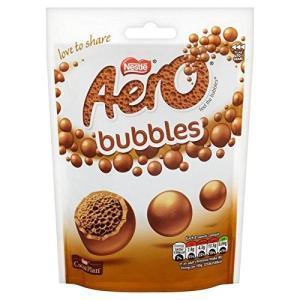 (Aero (エアロ)) ミルクチョコレートは、袋113グラムを共有泡 (x2) - Aero Mi...