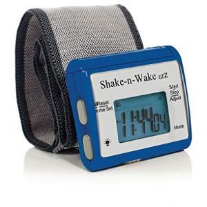 振動式目覚まし時計 シェイクン ウェイク Shake-n-Wake サイレン トバイブレーション 日...