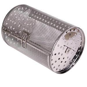 Liebeye ベーキングケージ グリルロースター ステンレス製 ドラム オーブン バスケット ピーナッツコーヒーローストオーブン機器 バスケット