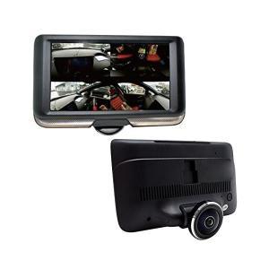 Mtk ドライブレコーダー 360度 同時録画 バックカメラ付 S360 三金商事