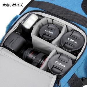 カメラバッグ メンズ レーデイス 男女兼用 リュック リュックサック バッグ  デイパック   一眼レフ デジタルカメラ 大容量  三脚ポルター 旅行 送料無料|darcy|04