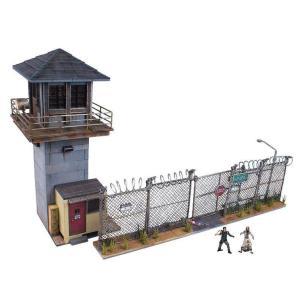 ウォーキング・デッド TV ビルディングセット ミニフィギュア セット: プリズンタワー&ゲート