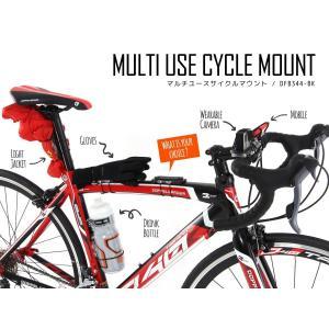 マルチユースサイクルマウント 進化系スマホホルダー 自転車に載せられるアイテムの選択肢無限大|dart7|03