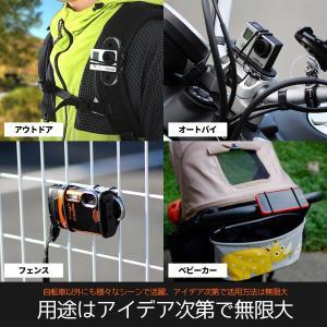マルチユースサイクルマウント 進化系スマホホルダー 自転車に載せられるアイテムの選択肢無限大|dart7|06