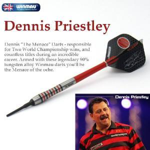 ダーツ セット バレル DENNIS PRIESTLEY デニス・プリストリー (WINMAU) darts-ya