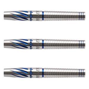 DYNASTY(ダイナスティー) A FLOW BLACK LINE コーティングタイプ  THE EAGLE3(イーグル3) 2BA ラリー・バトラー選手モデル (ダーツ バレル ダーツセット) dartshive