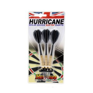 Harrows HURRICANE BRASS【ソフトダーツ】【ハローズ】【DARTS】|dartshive