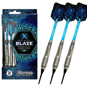 Harrows(ハローズ) BLAZE(ブレイズ) StyleA 2BA (ダーツ バレル ダーツセット)|dartshive