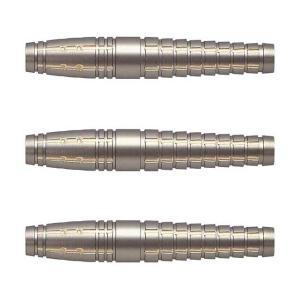 Harrows(ハローズ) SARU KING(サルキング) BRASS 2BA 鈴木猛大選手モデル (ダーツ バレル ダーツセット)