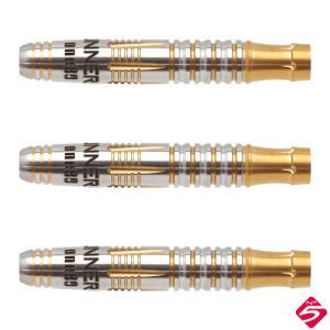 One80(ワンエイティ) Gunner(ガンナー) No.5 21g ローレンス・イラガン選手モデル (ダーツ バレル ダーツセット)|dartshive
