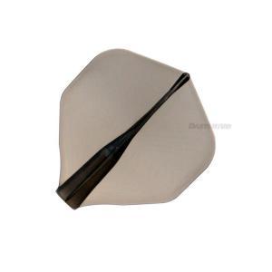 JOKERDRIVER 零-ZERO-Flight Practice Model スタンダード <クリアブラック>【ジョーカードライバー ゼロ フライト プラクティス ソフトダーツ|dartshive